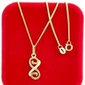 Jewelry - 18k Necklace 💯 % real Gold Saudi